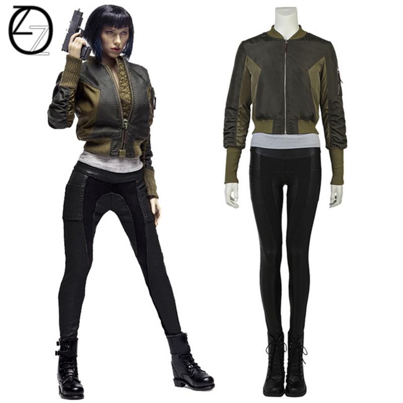 Movie Ghost In The Shell Kusanagi Motoko Cosplay Costume Halloween Costumes For Adult Cosplay Major Motoko Kusanagi Costume Suit Costumes For Adults Halloween Costumecostume Suits Aliexpress