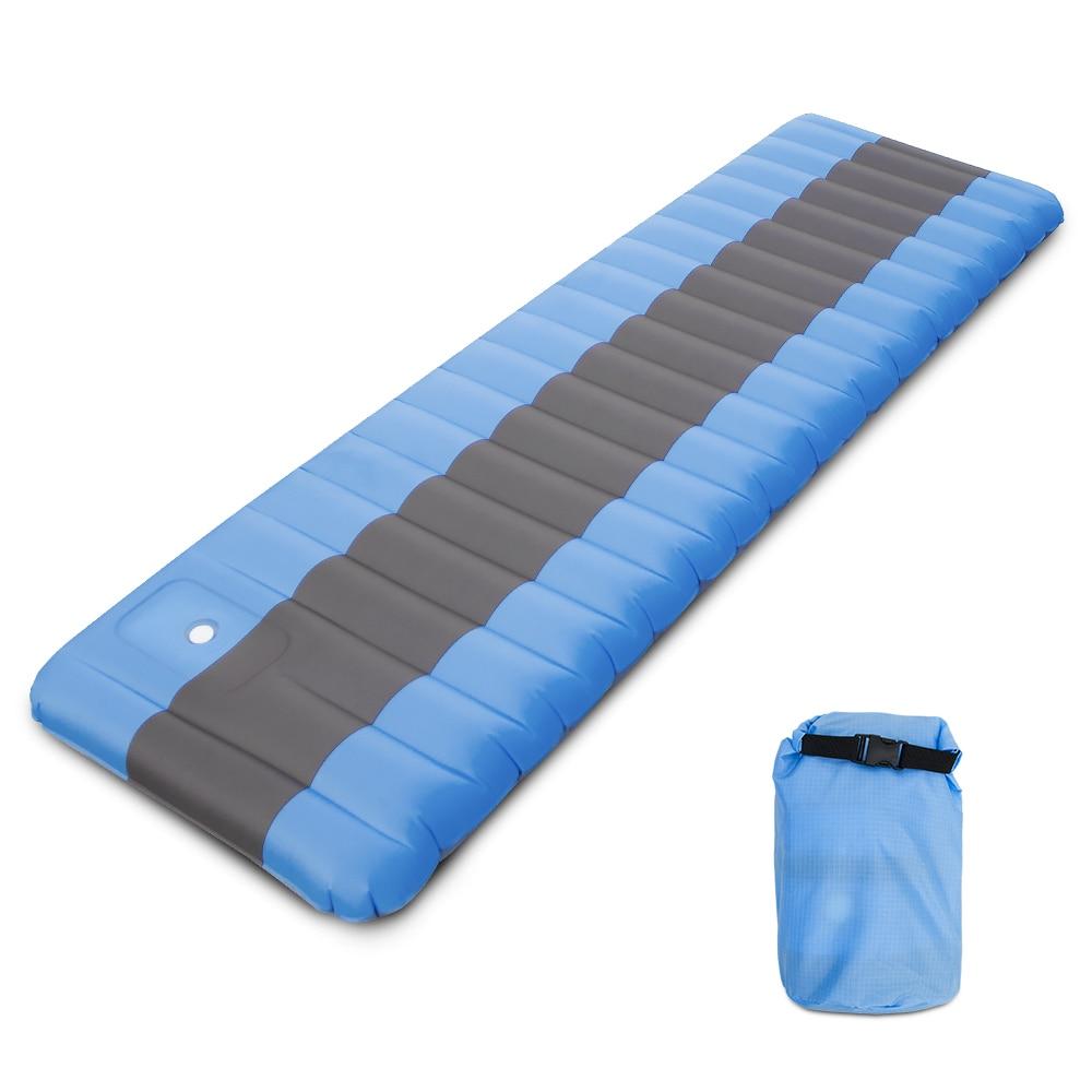 Matelas gonflable lit gonflable matelas de Camping gonflable coussin de couchage ultra-léger tapis de couchage en plein Air randonnée voyage