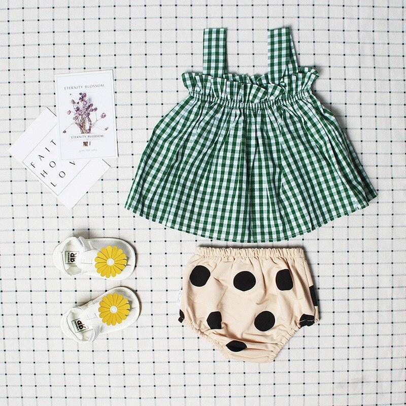 Baby Girl Letnia sukienka bez rękawów Sukienka Baby Girl Summe Set - Odzież dla niemowląt - Zdjęcie 2