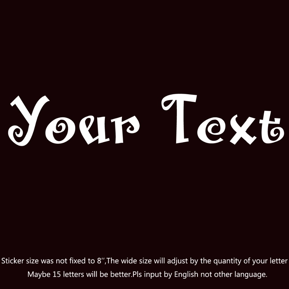 your text vinyl decal sticker car window bumper custom 7 personalized lettering santas big secret bb