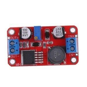 Image 4 - XL6019 automatyczne step up prądu stałego Dc regulowany konwerter moduł zasilania 20W 5 32V do 1.3 35V