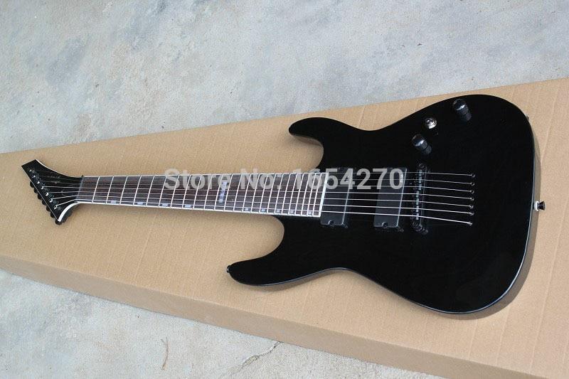hot new arrival free shiping E.S.P custom shop MH 417 7 strings electric guitar LTD MH 417 7 strings guitar .