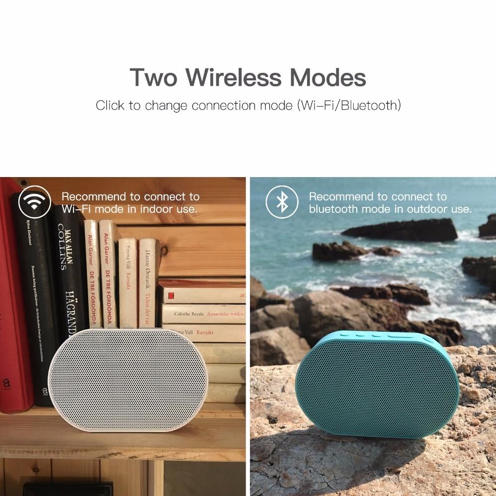GGMM E2 haut-parleur Bluetooth portable Haut-Parleur WIFI haut-parleur sans fil En Plein Air Altavoz Bluetooth Soundbar caisse de résonance Avec Amazon Alexa - 3
