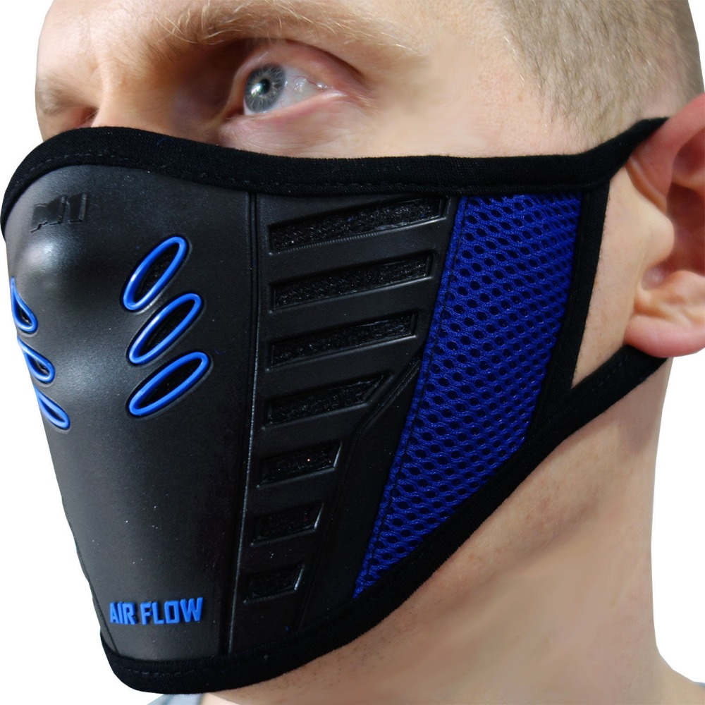 Half Face Mask Anti Dust Pollution Filter Smog Toxic Fume