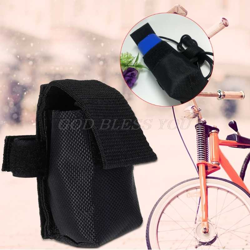 Bike Battery Bag Cycling Hunting Outdoor Sports Storage Flashlight Portable Case Bicycle Accessories