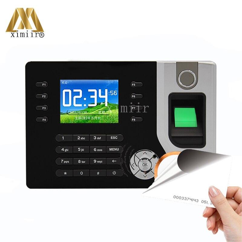 2.4 inch Screen Biometric Fingerprint Time Attendance Support ID Realand A-C071 P2P Cloud TCP/IP Communication стоимость