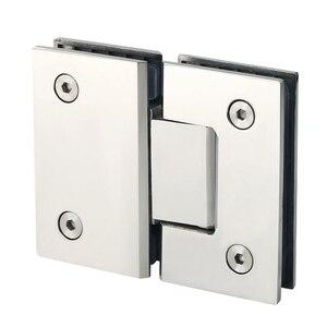 Image 1 - Зажим 180 градусов для дома, простая установка, стеклянный зажим для дверей, шкафов, витрин, зажим для стеклянного душевого шкафа, мебельных петель, сменные детали