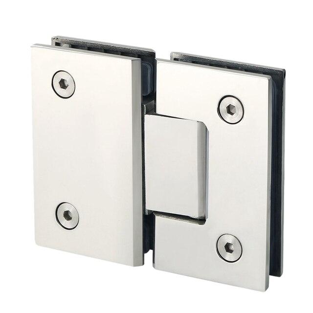 Зажим 180 градусов для дома, простая установка, стеклянный зажим для дверей, шкафов, витрин, зажим для стеклянного душевого шкафа, мебельных петель, сменные детали