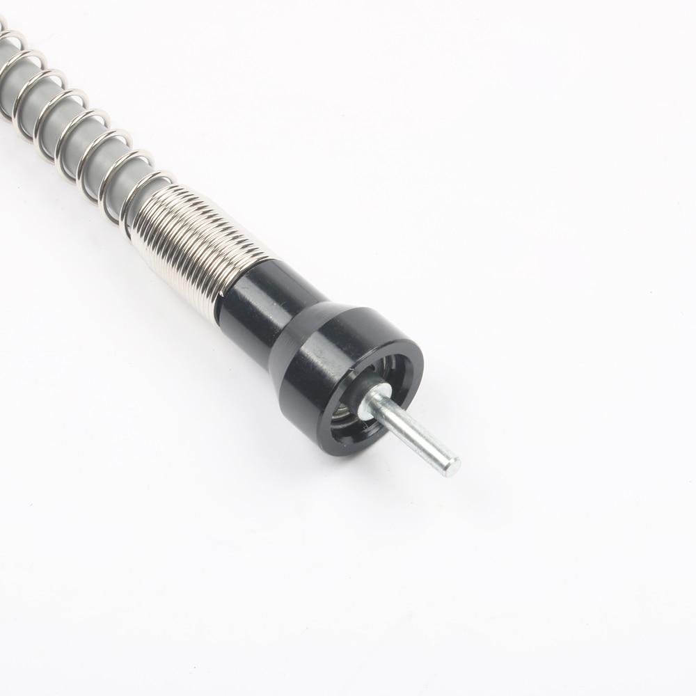 Wilko 20x PICK marrón o blanco 7mm clips de cable redondo Antena Coaxial En//Al Aire Libre
