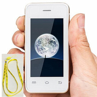 Melorse S9 Smallest Mobile Phone Android 4 4 MTK6572 Dual Core 3G Mini Card Phone I6