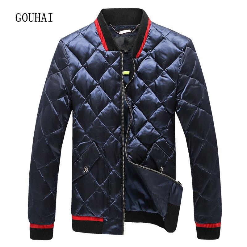 Fashion Short Solid Light Down Men Feather Jacket Male Parka Homme Winter Jacket Mens White Duck Down Jacket Men Plus Size 4XL