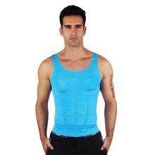 Männer Enge Abnehmen Körperformer Weste Hemd Abs Bauch Schlank 7 Farben Klassische Unterhemd Richtige Körperhaltung Dünner N leben