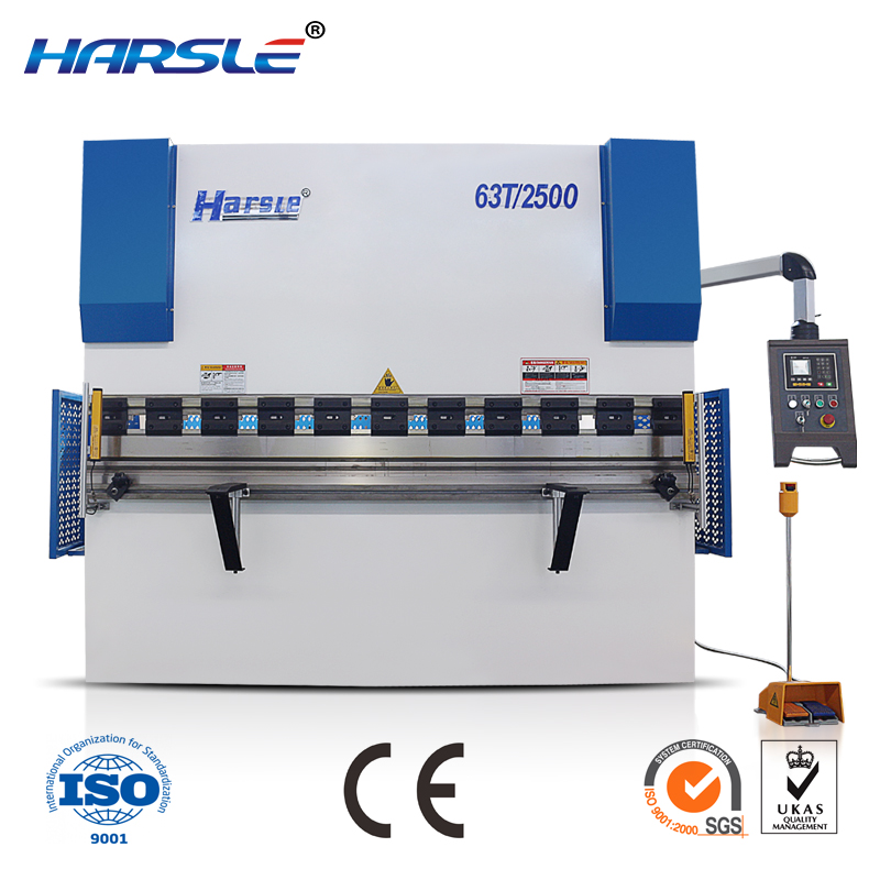 hydraulic metal sheet press brake/bender hydraulic pressing machine