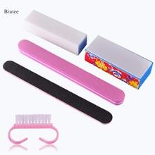 Biutee 5Pcs Professional Manicure Tools Kit Rectangular Nail