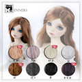 1/3 1/4 1/6 BJD wig long wave hair  doll  DIY High-Temperature Wire for BJD SD doll