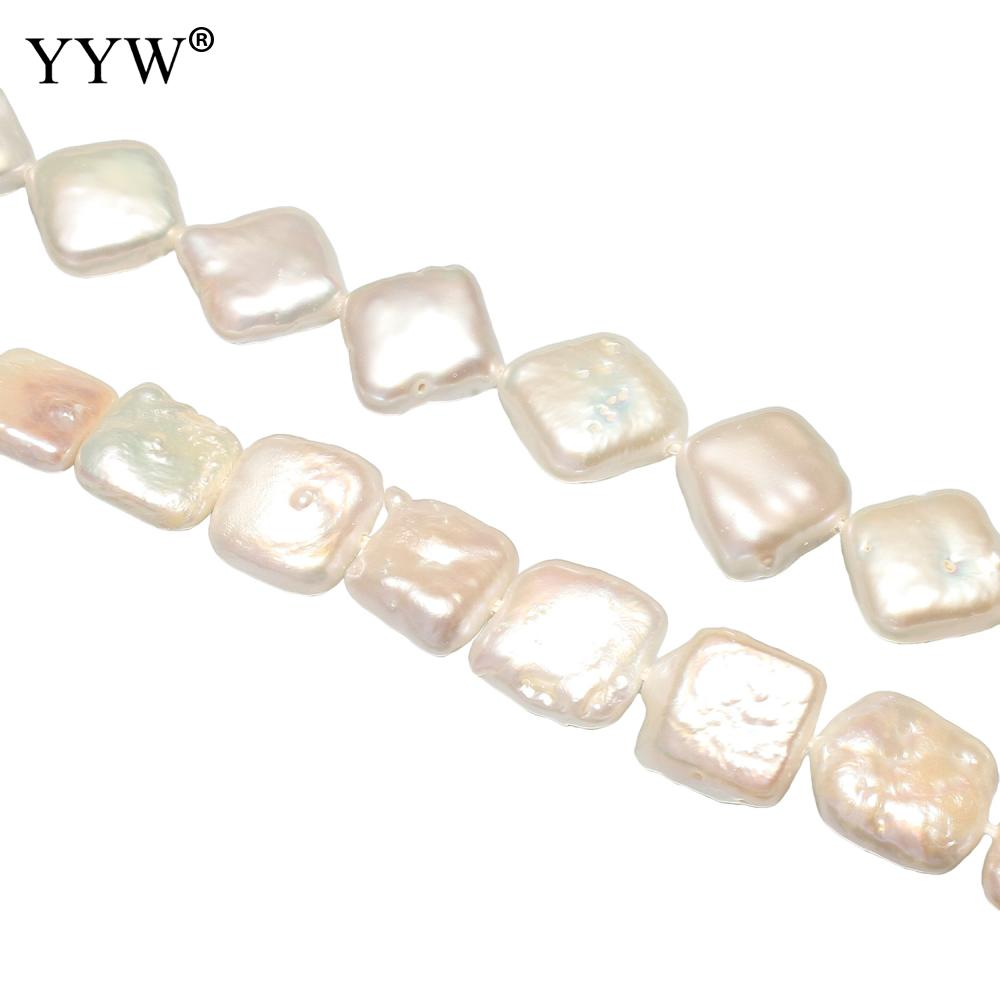 Cultured Coin Freshwater Pearl Beads natural Approx 0.8mm Sold Per Approx 15 Inch Strand