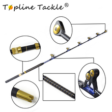 2018 TopLine Tackle Big Game deep sea heavy power rod  fishing trolling match rod