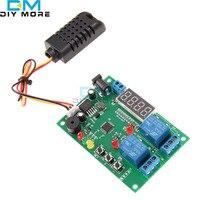 Dijital LED Ekran Sıcaklık ve Nem Kontrol Kurulu w/AM2301 Sensörü