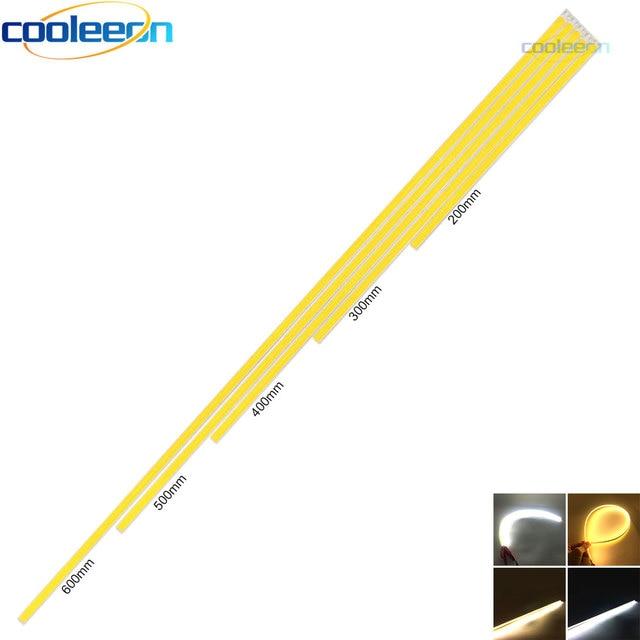 10 sztuk 12V przyciemniane światło LED listwa oświetleniowa 20CM 30CM 40CM 50CM 60CM ciepły czysty biały światła typu LED Bar na wystawę lampa oświetleniowa