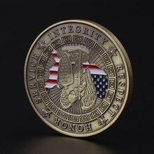 Девиз американской полиции США, Памятная коллекция монет, памятные монеты, украшение для дома, сувенир, художественные ремесла, подарки, украшения