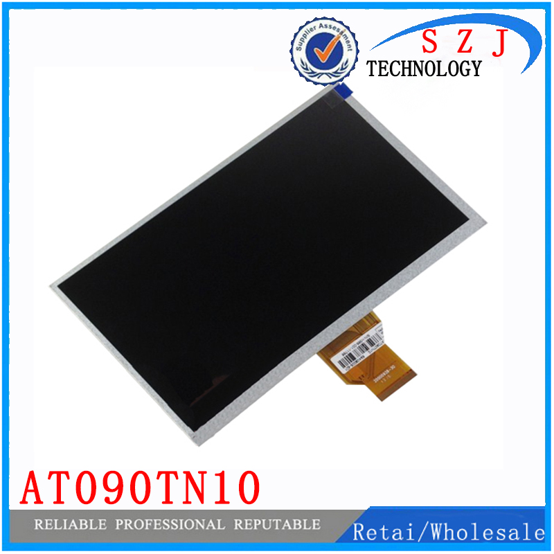 Оригинал 9 дюймов ЖК-дисплей Экран панели Разрешение дисплея 800*480 для GPS MP4 MP5 AT090TN10 20000938-00 автомобиль DVD MOMO9 Бесплатная доставка