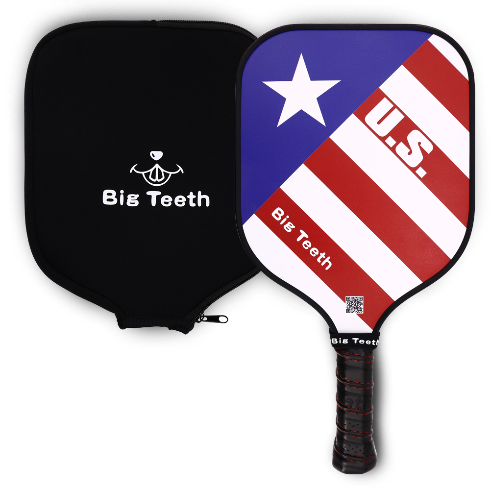 Pickleball Paddle Graphite Pickleball Paddle With Neoprene Rackets Cover Lightweight 7.83oz