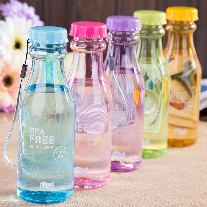 Warm Hands Leak-proof <font><b>Plastic</b></font> Portable Drop <font><b>Does</b></font> <font><b>Not</b></font> <font><b>Break</b></font> <font><b>The</b></font> Vial Seal Water Readily Drink Bottle Transparent Bottle