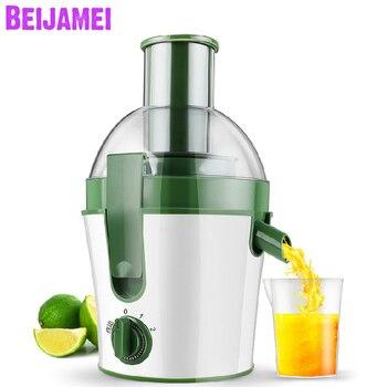 Nueva llegada de BEIJAMEI, exprimidores de frutas y verduras, máquina multifunción, Extractor eléctrico de zumo lento, licuadora de alimentos