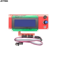 3D Printer Kit Smart Parts RAMPS 1 4 Controller Control Panel LCD 2004 Module Display Motherboard