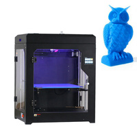 Dual Nozzle 2 Extruder 3 Dimensional Model Impresora 3D Metal Printer Large Drei 3D Drucker Machine Hotbed Promotional Gift