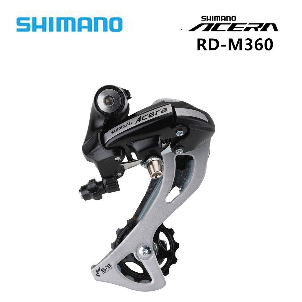 Shimano RD-M410 Alivio SGS Rear Derailleur Long Cage 7//8Speed For MTB Bike Black