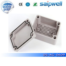 Saipwell Brand New IP66 ABS Waterproof enclosure for electronics 65*95*55mm (Gray Cover) DS-AG-0609