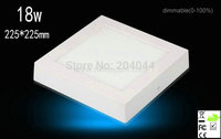 2018 Rushed New Ceiling Lamp 1pcs/lot 18w Surface Down Light Dimmable (0 100%)led Panel Mounted Warm/cool White Rohs Led Bulbs