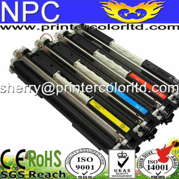 CE310A/CE311A/CE312A/CE313A toner cartridge for hp cp1025 126A M175NW M275A