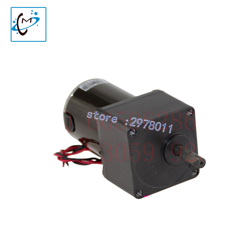 Best quality !!! Large format printer machine Flora LJ320SE /LJ3208 /LK3208 24V dc motor 55ZY24-15-01 stepped motor hot sale single dx5 ink pump assembly for flora versacamm leopard large format printer machine