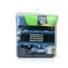 Microfiber Car Cleaning Kit Include 3* Microfiber Towels 3* Applicator Pads 1*Wash Sponge 1*Wash Mitt  1*Wheel Brush