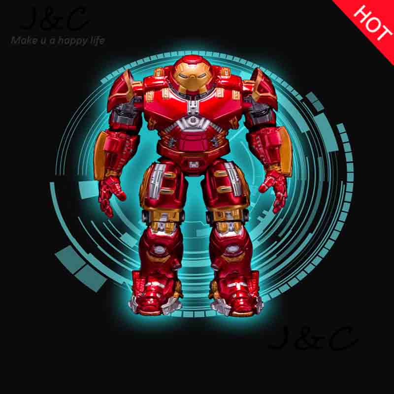 Free Shipping Avengers Ironman Action Figures Hulkbuster Superman 17cm Iron Man Action Figures Hot Toys Pvc Figure Kids Toy Gift hot the avengers ironman action figure 17 5cm mk42 mk43 iron man doll pvc acgn figure toy brinquedos anime kids toys