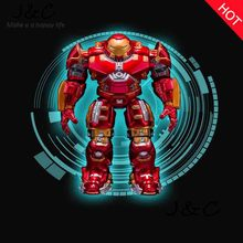 Free Shipping Avengers Ironman Action Figures Hulkbuster Superman 17cm Iron Man Action Figures Hot Toys Pvc Figure Kids Toy Gift