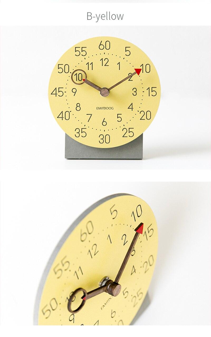 retro clock with time projection clock vintage reloj mesa vintage reloj antiguo automobile clock alarm clock bedroom clock clock flip watch table table clock (6)
