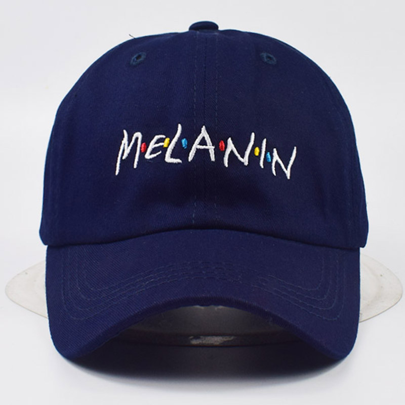 spring summer new style unisex MELANIN dad hat high quality adjustable cotton baseball cap curved sun hat casual caps sports hat cntang brand summer lace hat cotton baseball cap for women breathable mesh girls snapback hip hop fashion female caps adjustable