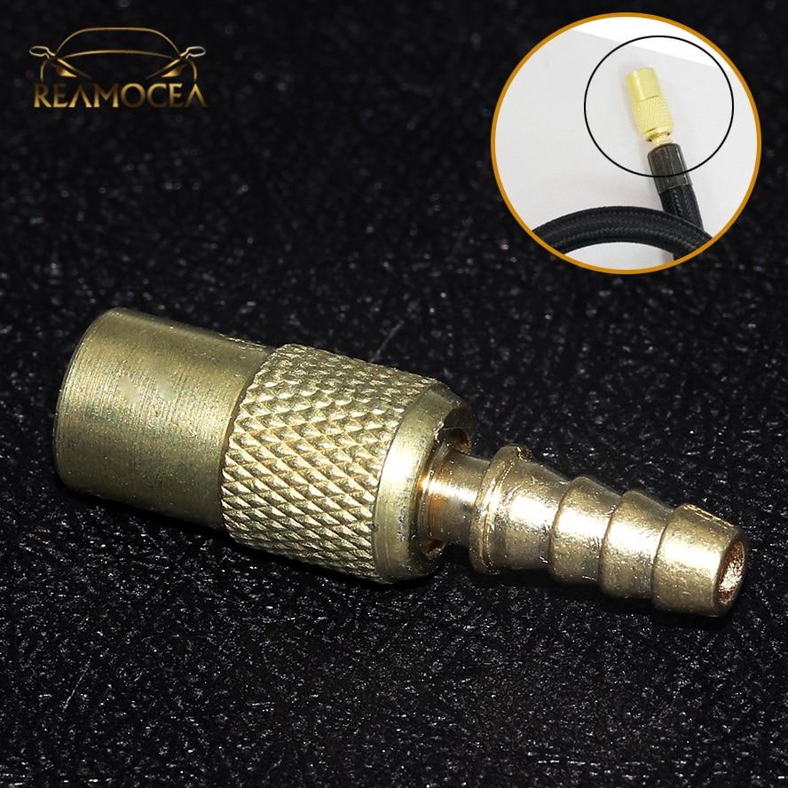 Reamocea 1PC 6mm Car Auto Zinc Alloy Tyre Wheel Tire Air Chuck Inflator Pump Valve Clip Clamp Connector Adapter