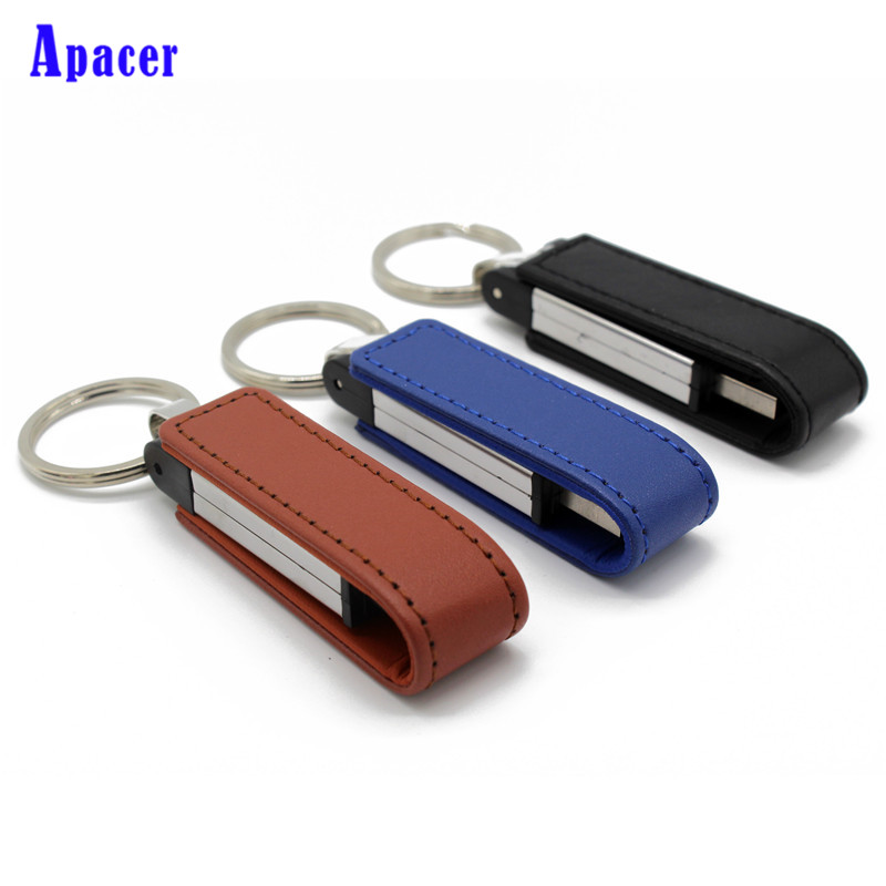 Apacer flash drive 64GB pen drive leather wrist band USB flash drive 4GB 8GB 16GB 32GB PENDRIVE aurora firenze aurora firenze au008ewiji98