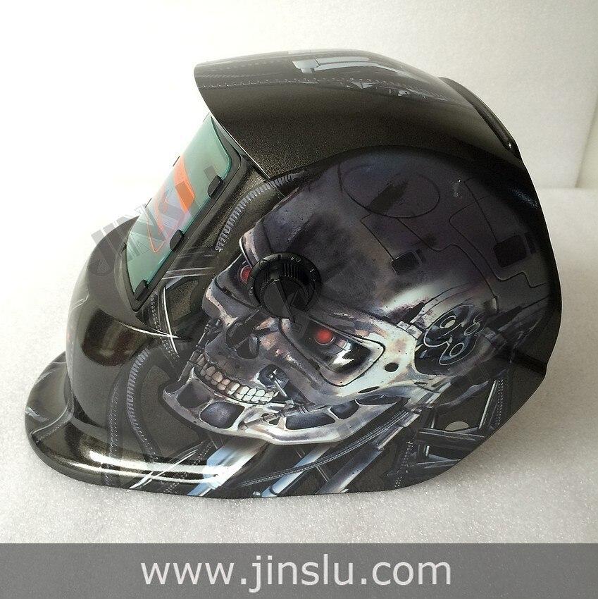 ФОТО Welding tools Stepless adjust Solar Auto darkening TIG MIG MAG MMA welding helmets/face mask/Electric welding mask/welder cap