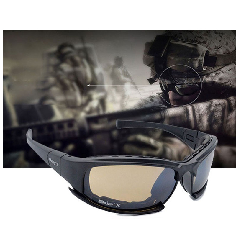 Military Goggles Bullet-proof Army X7 Polarized Sunglasses 4 Lens Hunting Shooting Airsoft Cycling Full Finger Motorcycle GlasseMilitary Goggles Bullet-proof Army X7 Polarized Sunglasses 4 Lens Hunting Shooting Airsoft Cycling Full Finger Motorcycle Glasse