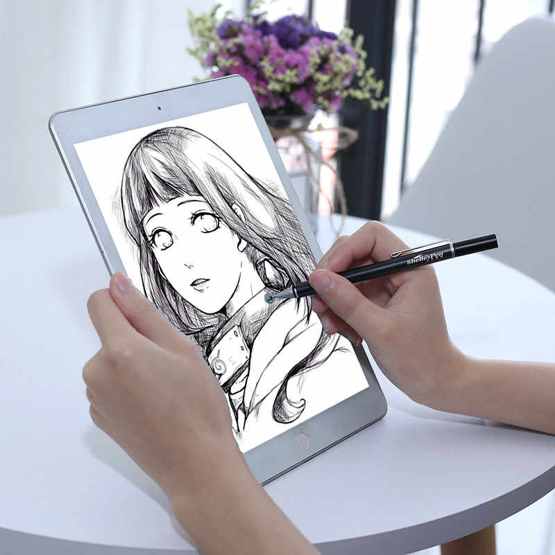 Stylus genérico para tablet teléfono pantalla capacitiva Lápiz escribir lápiz táctil para ipad Fit iphone adecuado todo dispositivo Android