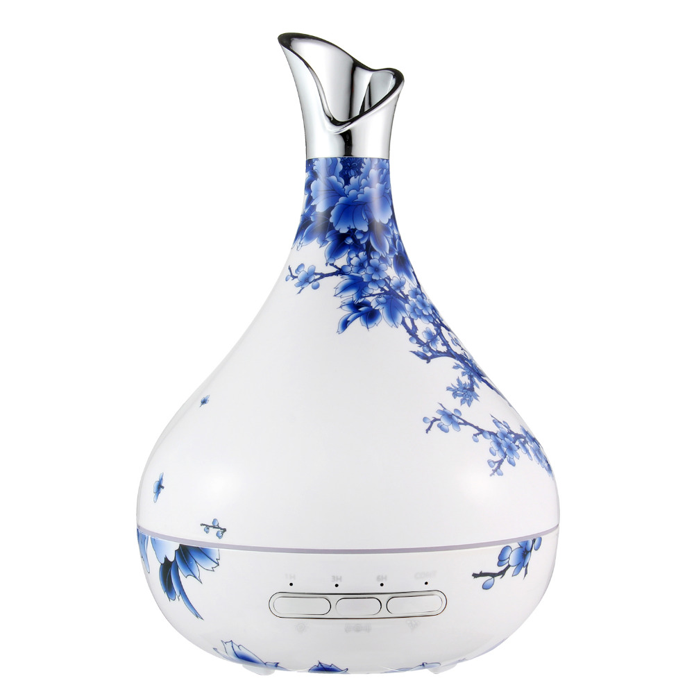 Creative Aromatherapy Essential Oil Diffuser 4 Timer Settings 7 Color Changing Humidifiers Cool Mist Humidifier for Bedroom Home