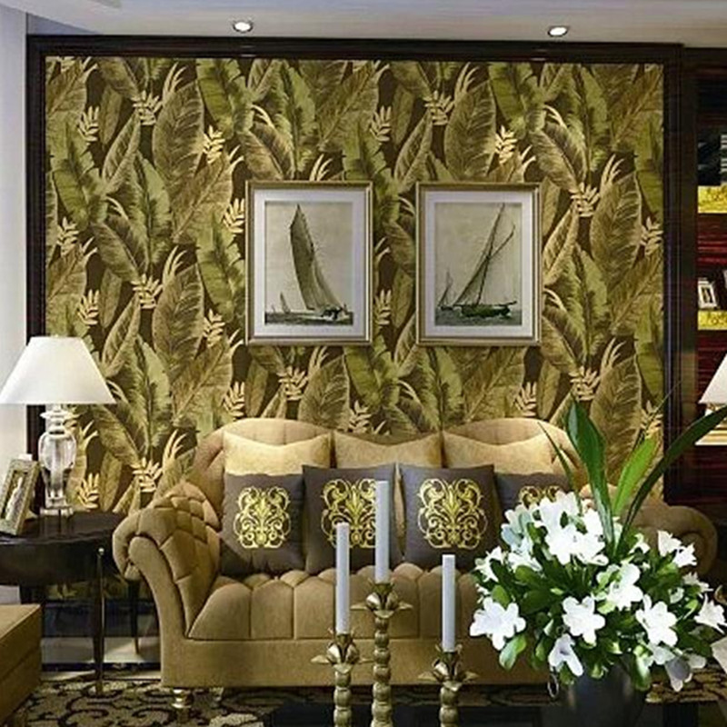 Non Woven Forest Wallpaper Embossed Wallpaper Rolls Modern Living Room Design Bedroom Decor Living Room TV Wall Paper Roll Floor rustic living room bedroom wallpaper romantic floral wallpaper non woven wallpaper