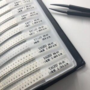 Image 3 - 4250pc 1% 0805 smd 레지스터 키트 + 2300pc 커패시터 제품 레지스터 북 커패시터 레지스터 팩 용 샘플 북