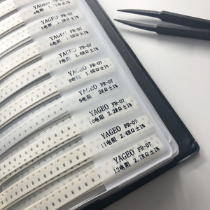 Image 3 - 4250pc 1% 0805 smd resistor kit + 2300pc capacitor assortment sample book for resistor book capacitor resistor pack