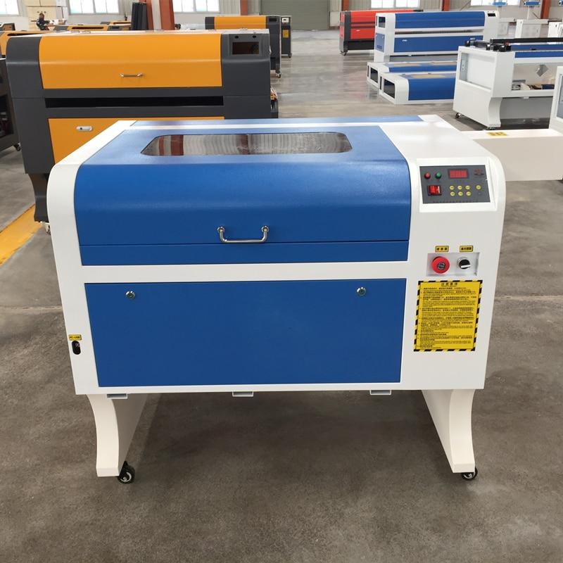 4060 СО2 лазерная машина, бесплатная доставка 50 Вт СО2 лазерная гравировальная машина, 220 В 110 В CNC лазерная cutt машина, CNC гравировальный станок